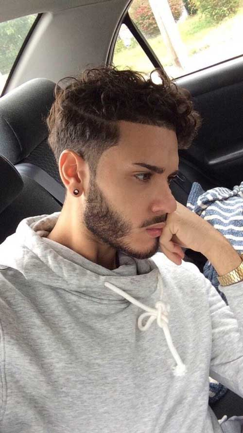 Guy Hairstyle with Curls