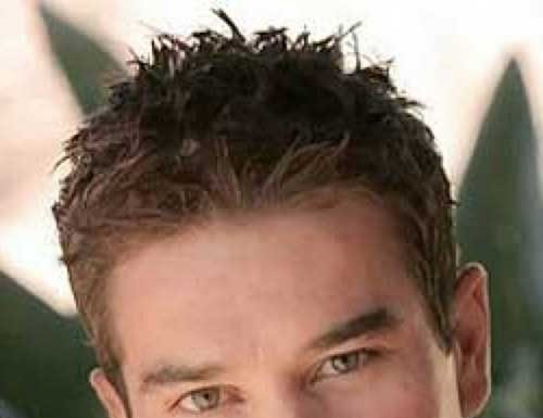 Hair Style Round Face Man: 25 Best Curly Haircuts For Guys