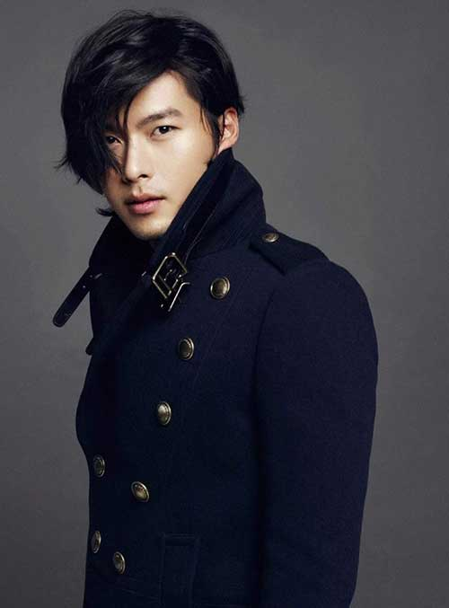 Handsome Korean Celebrity Men Hairstyle