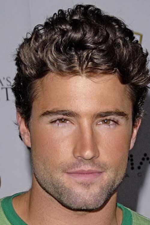 Best Men Curly Hairstyles 2015