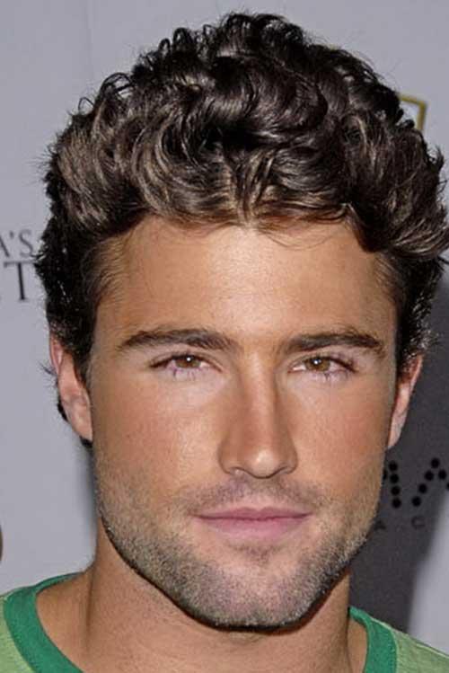 Sensational Guy With Curly Hair Mens Hairstyles 2016 Short Hairstyles Gunalazisus