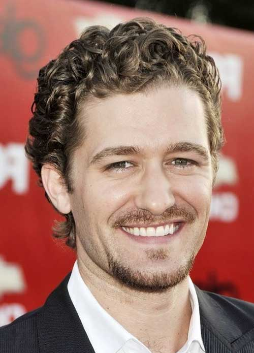 Men Short Curly Hairstyles 2015