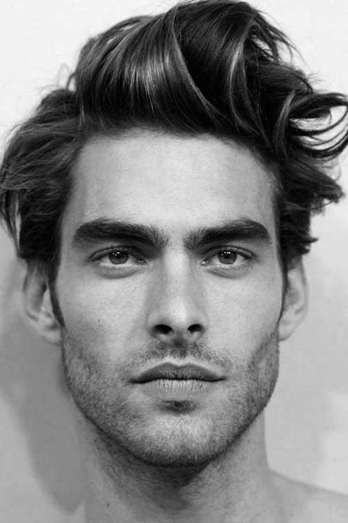 Awe Inspiring 15 Hairstyles For Men With Long Faces Mens Hairstyles 2016 Short Hairstyles Gunalazisus
