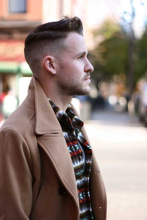 Nice Fade Cut Men Hairstyles