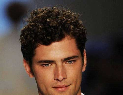 Hairstyles Curly Hair Male: Mens Curly Hairstyles