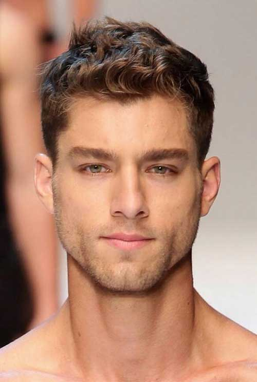 Pleasant Guy With Curly Hair Mens Hairstyles 2016 Hairstyles For Men Maxibearus