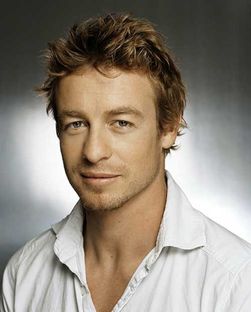 Simon Baker Celebrity Men Hairstyles
