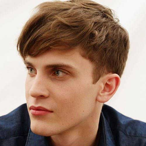 10 popular boys haircuts with bangs mens hairstyles 2017 wavy short hair with sided bangs for boys urmus Image collections