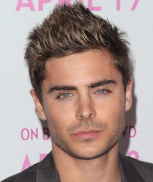 Zac Efron Ash Brown Hair Color