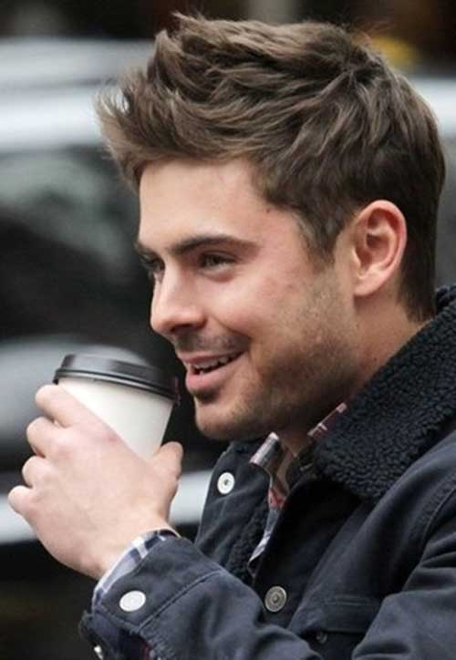 Something is. Men s hairstyles short zac efron