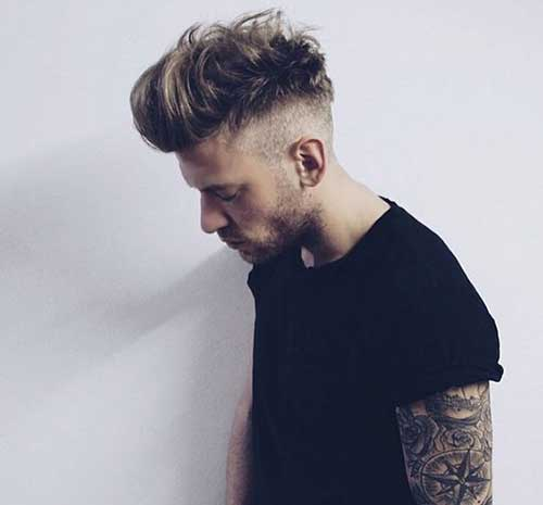 Mid Length Hairstyles for Men-10