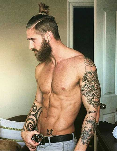 Men Ponytail Hairstyles-12