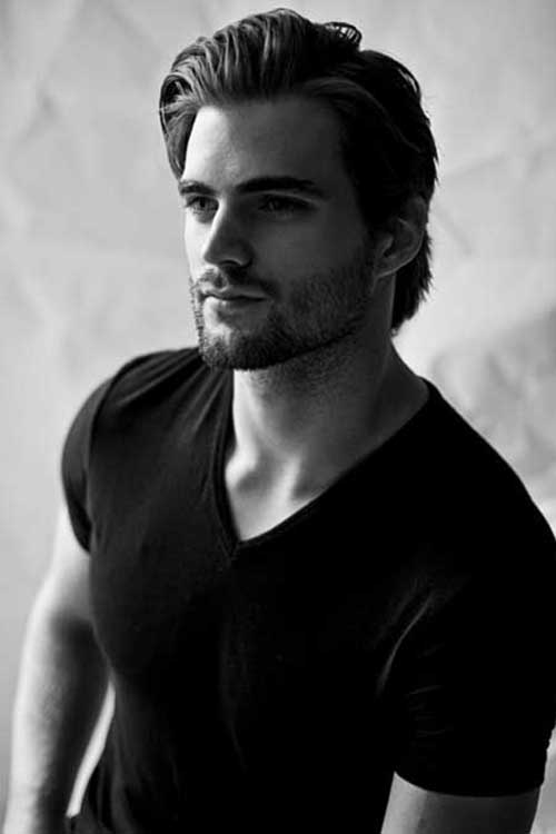 Mid Length Hairstyles for Men-12