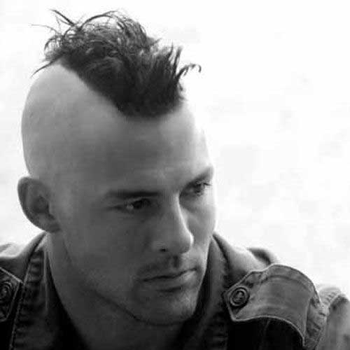 Mohawk Hairstyles Men Short Hairstyle