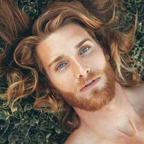45 Long Hairstyles for Men-13