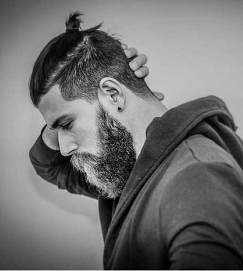 Men Ponytail Hairstyles-13