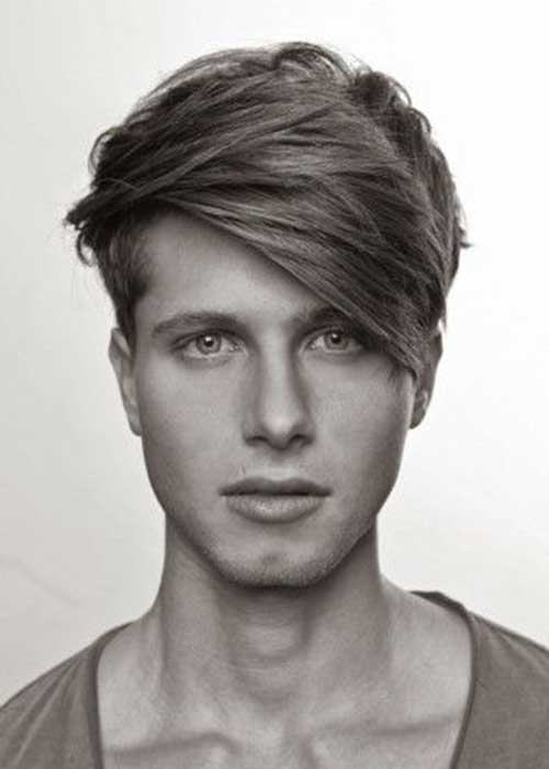 Mid Length Hairstyles for Men-13