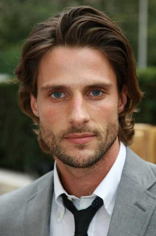 Mid Length Hairstyles for Men-14