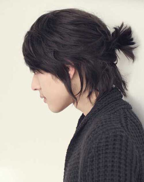 Men Ponytail Hairstyles-15