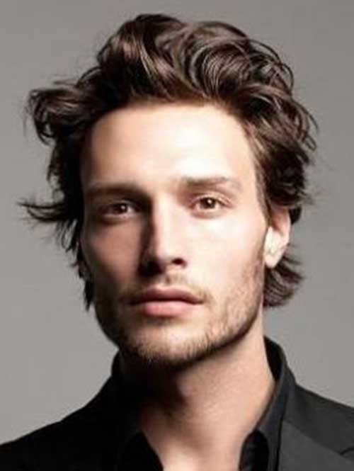 Mid Length Hairstyles for Men-15