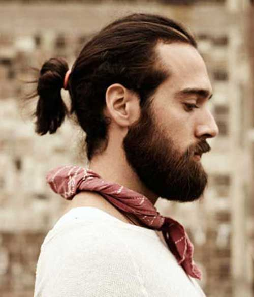 Men Ponytail Hairstyles-16