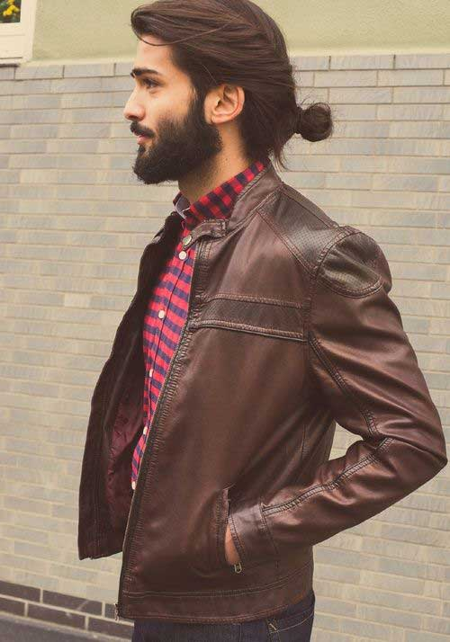45 Long Hairstyles for Men-17