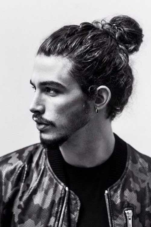 Men Ponytail Hairstyles-17