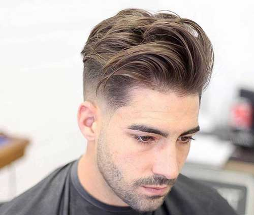 Mid Length Hairstyles for Men-17