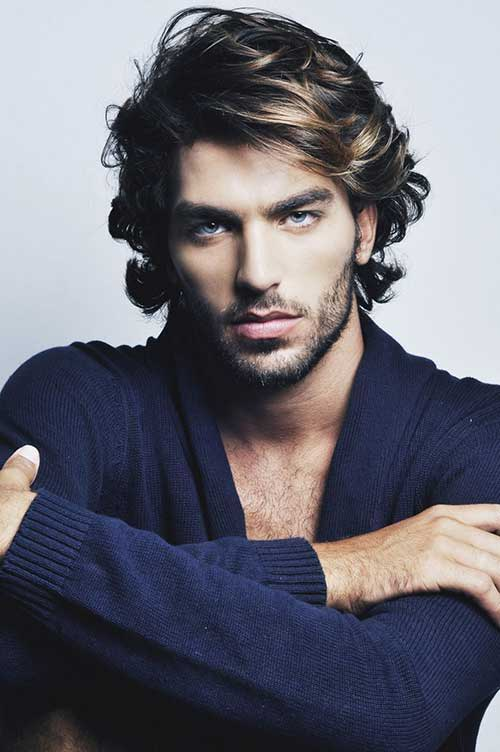 Mid Length Hairstyles for Men-19