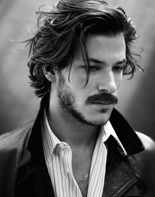 Mid Length Hairstyles for Men-20