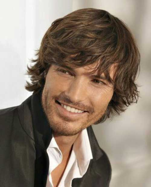 Mid Length Hairstyles for Men-21