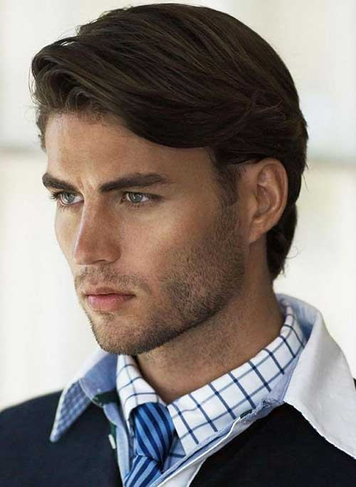 Mid Length Hairstyles for Men-22