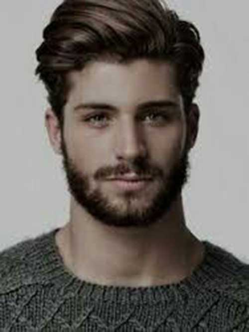 Mid Length Hairstyles for Men-24