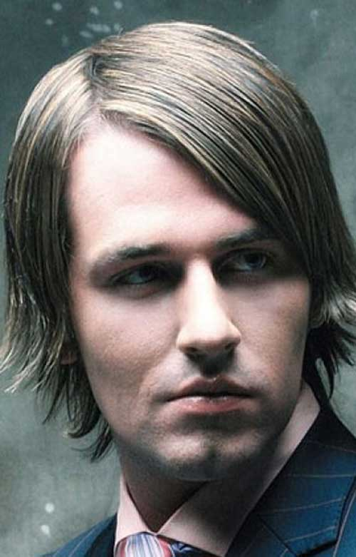 Mid Length Hairstyles for Men-25