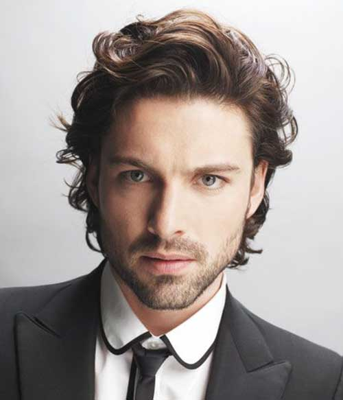 Mid Length Hairstyles for Men-27