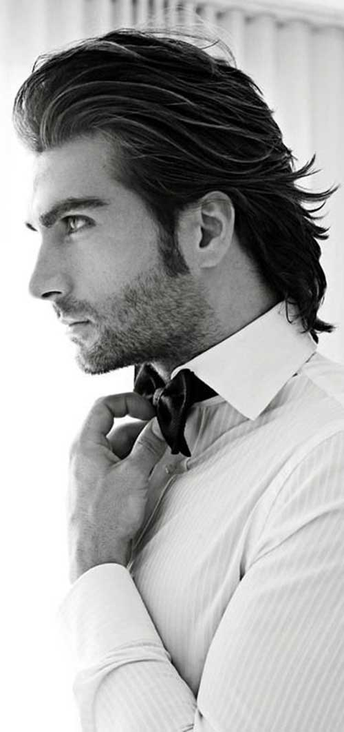 Mid Length Hairstyles for Men-28