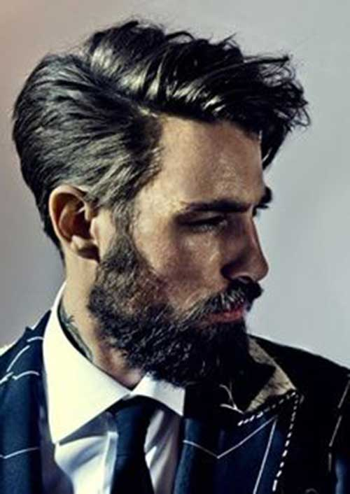 Mid Length Hairstyles for Men-29
