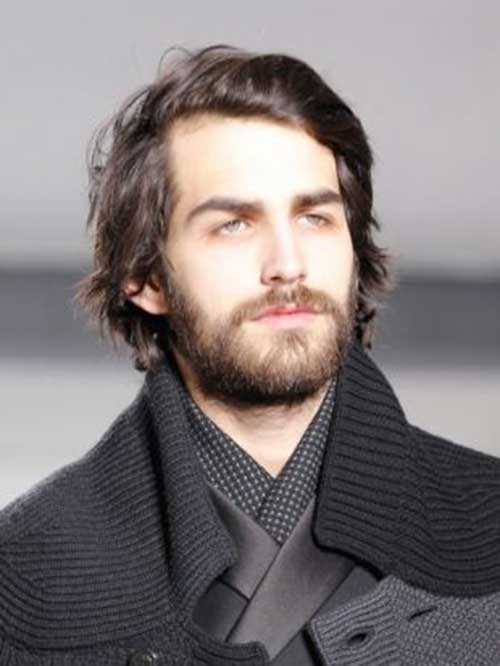 Mid Length Hairstyles for Men-36