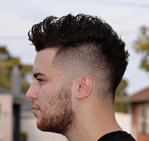 Mohawk Haircut Style Men Mens Hairstyles