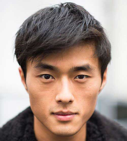asian hair men