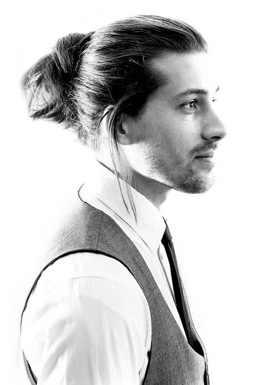 Men Ponytail Hairstyles-8