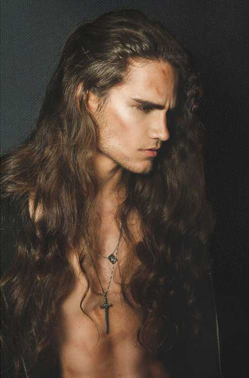 45 Long Hairstyles for Men-9