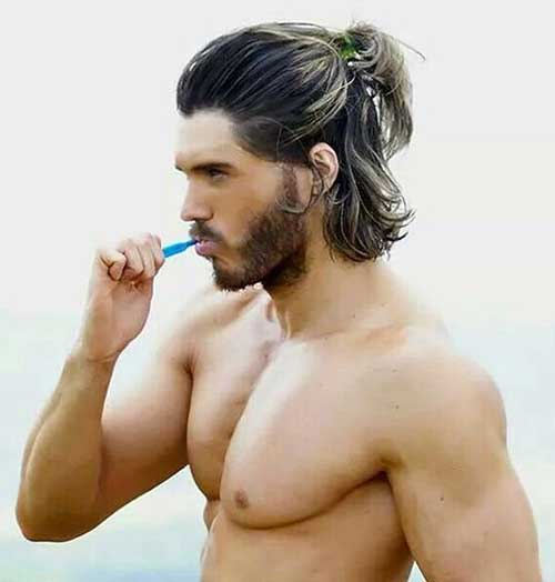 Men Ponytail Hairstyles-9