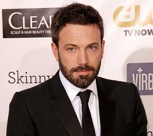 Ben Affleck Hollywood Men Hairstyle