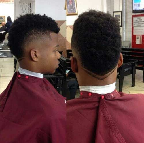 Amazing 15 Black Mens Mohawk Hairstyles Mens Hairstyles 2016 Hairstyles For Men Maxibearus