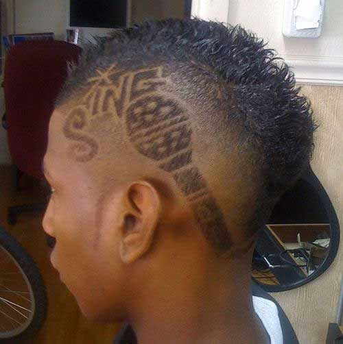 Black Men Haircut Designs Pictures