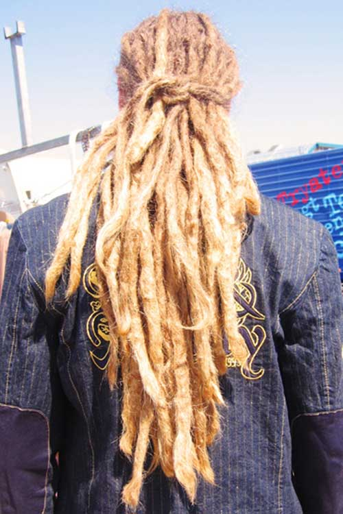 Black Men Dreadlocks Long Hair