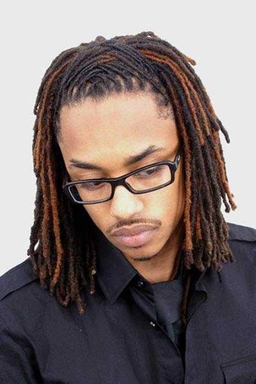 Black Men Long Dreadlocks Hairstyle