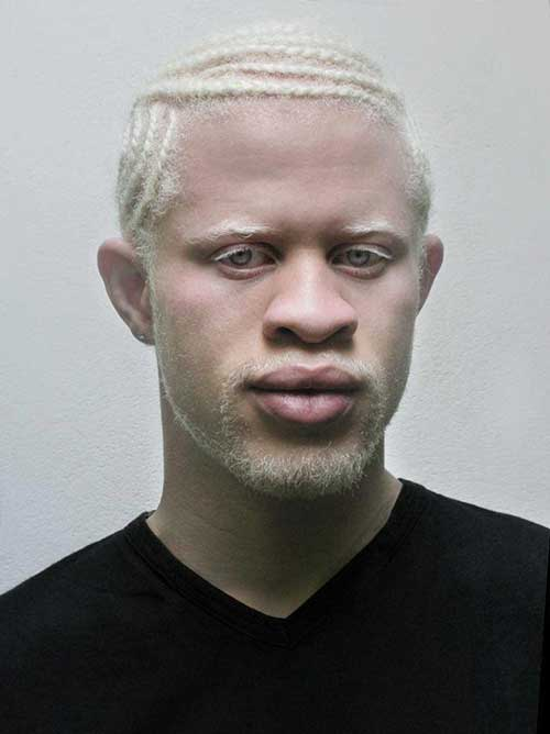 Blonde Black Men Hair Color