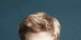 Casual Blonde Hair Color For Men